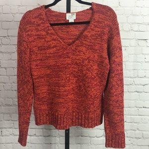 Ann Taylor LOFT V-Neck Long Sleeve Sweater